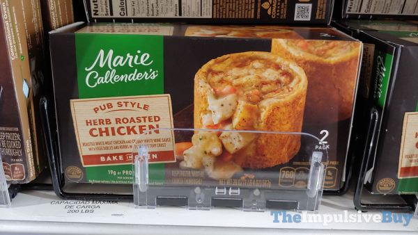 Marie Callender s Pub Style Herb Roasted Chicken