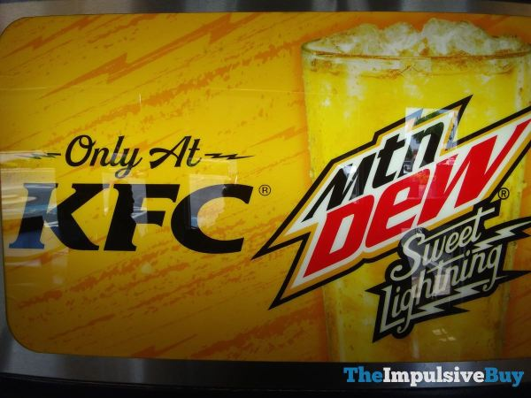 Mtn Dew Sweet Lightning  KFC Exclusive