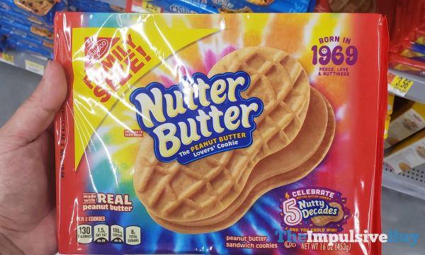 Nutter Butter Born in 1969 Packaging