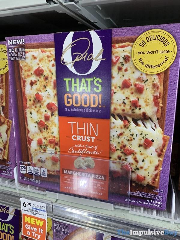 Oprah That s Good Thin Crust Margherita Pizza