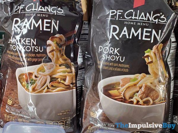 P F Chang s Home Menu Ramen Chicken Tonkotsu and Pork Shoyu