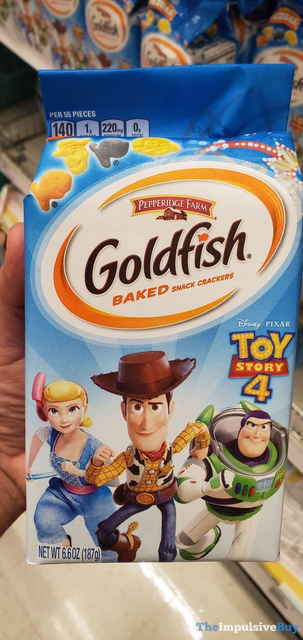 Pepperidge Farm Toy Story 4 Goldfish Crackers