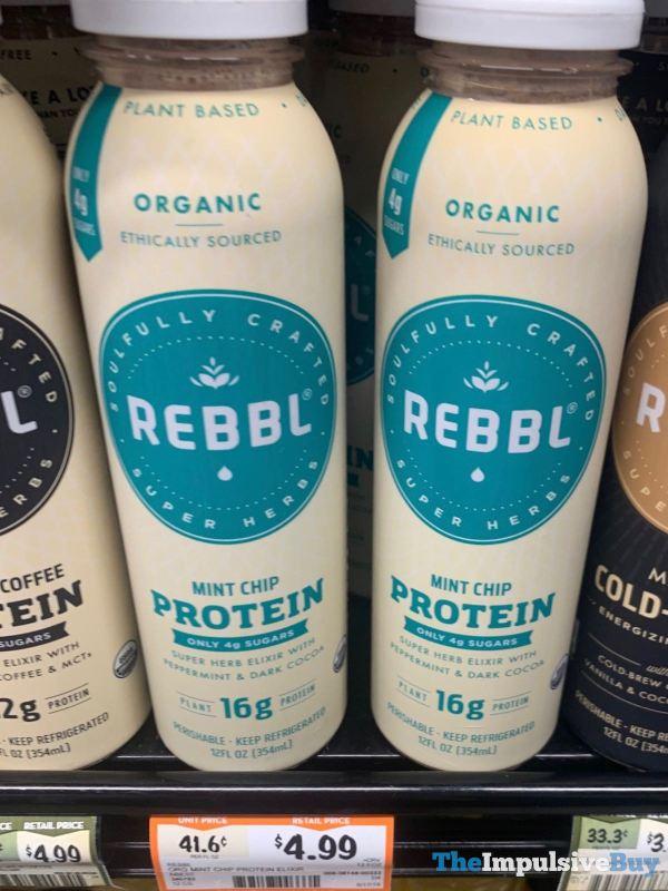 Rebbl Mint Chip Protein Elixir