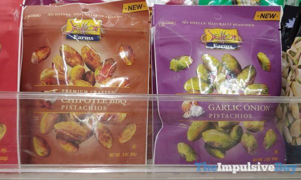 Setton Farms Premium Crafted Chipotle BBQ and Garlic Onion Pistachios