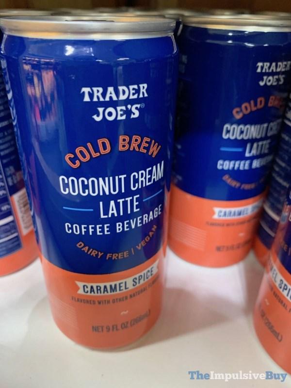 Trader Joe s Cold Brew Coconut Cream Latte Caramel Spice