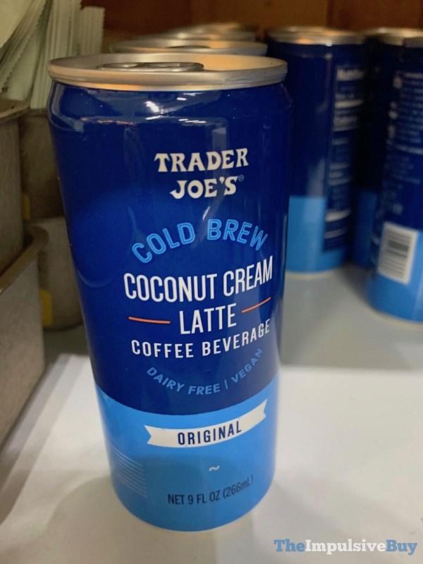 Trader Joe s Cold Brew Coconut Cream Latte Original