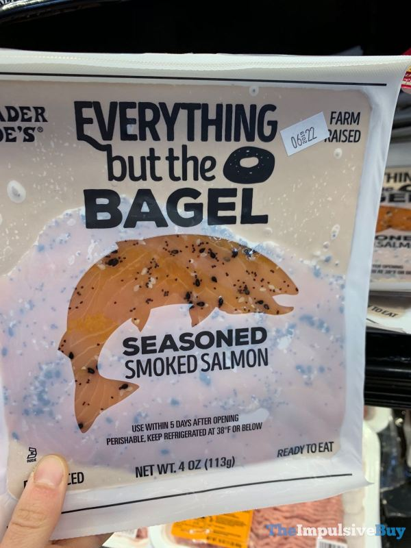 Trader Joe s Everything but the Bagel Seasoned Smoked Salmon