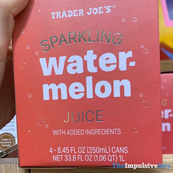 Trader Joe s Sparkling Watermelon Juice