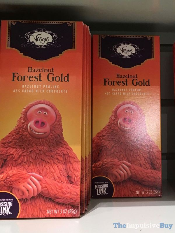 Vosges Hazelnut Forest Gold Bar