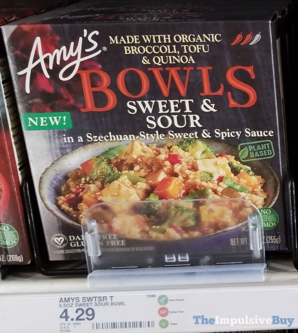 Amy s Bowls Sweet  Sour