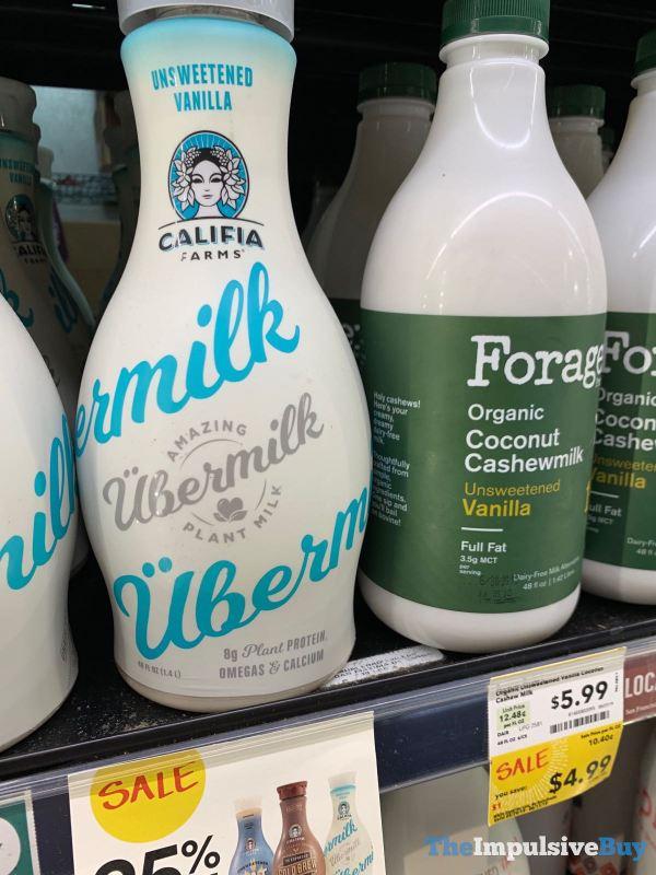 Califia Farms Ubermilk Unsweetened Vanilla