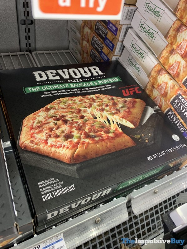 Devour Pizza The Ultimate Sausage  Peppers