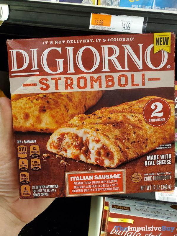 DiGiorno Stromboli Italian Sausage
