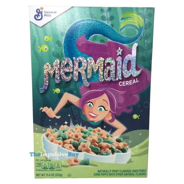 General Mills Mermaid Cereal