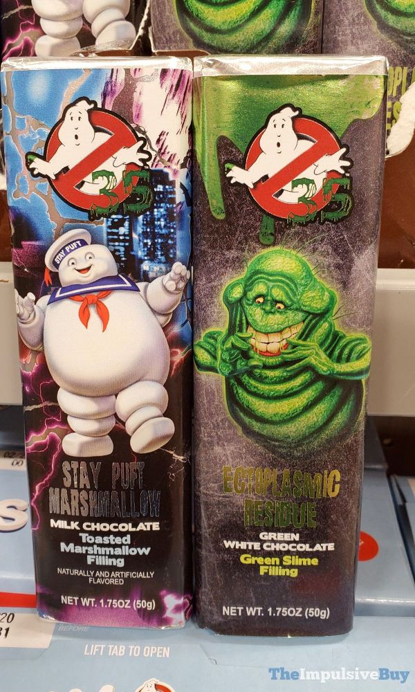 Ghostbusters 35th Anniversary Chocolate Bars