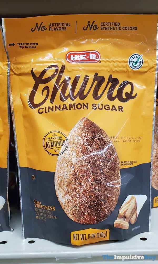 H E B Churro Cinnamon Sugar Almonds