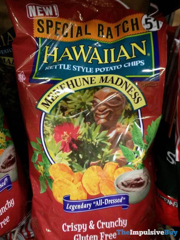 Hawaiian Special Batch No 51 Menehune Madness Kettle Style Potato Chips