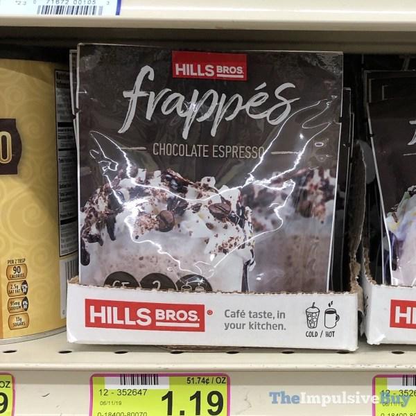 Hills Bros Chocolate Espresso Frappes