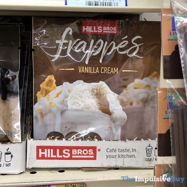 Hills Bros Vanilla Cream Frappes