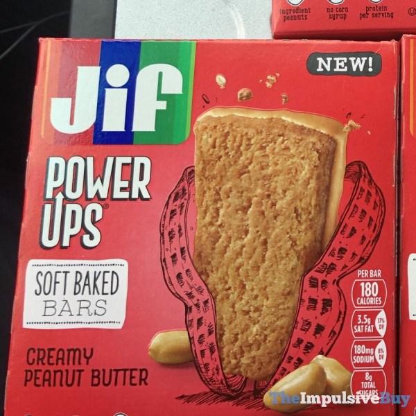 Jif Power Ups Creamy Peanut Butter Soft Baked Bars