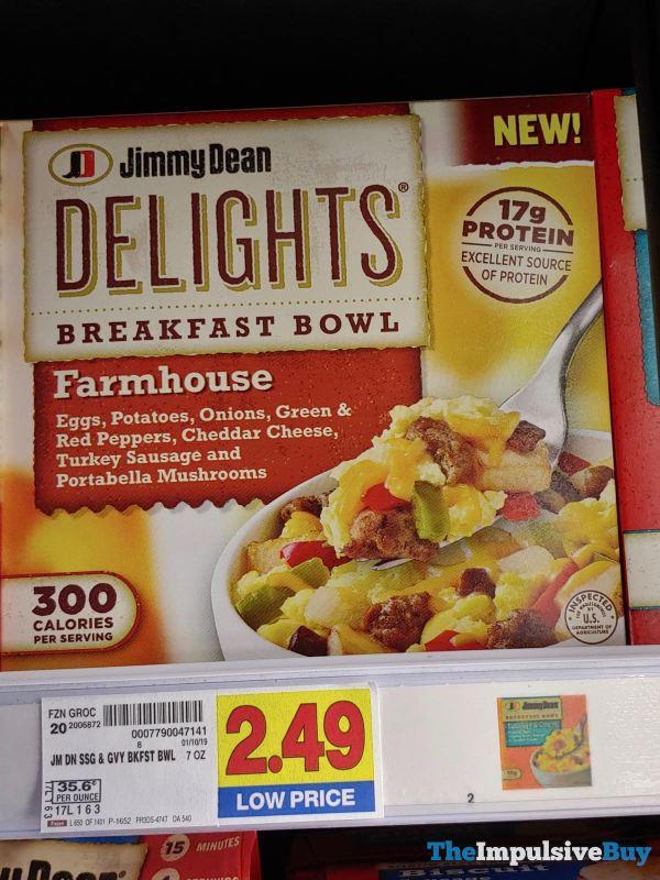 Jimmy Dean Delights Farmhouse Breakfast Bowl