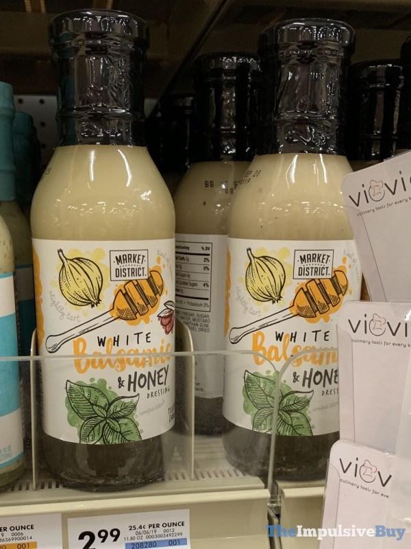 Market District White Balsamic  Honey Dressing