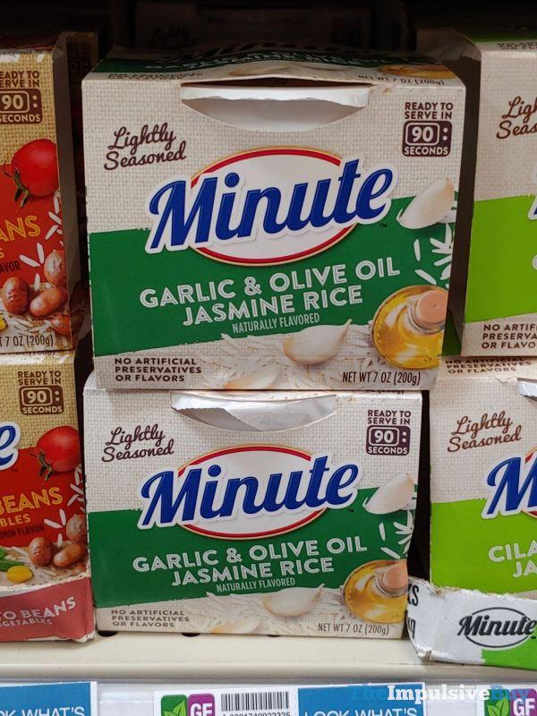 Minute Garlic  Olive Oil Jasmine Rice