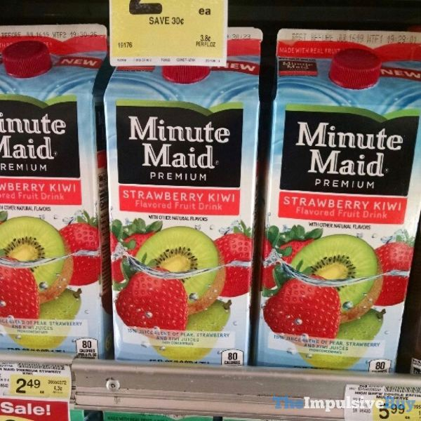 Minute Maid Strawberry Kiwi Fruit Drink
