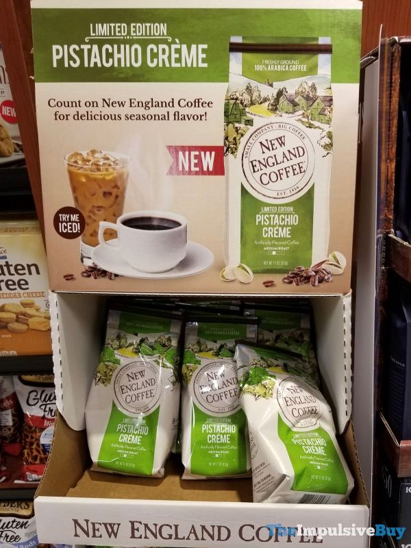 New England Coffee Limited Edition Pistachio Creme