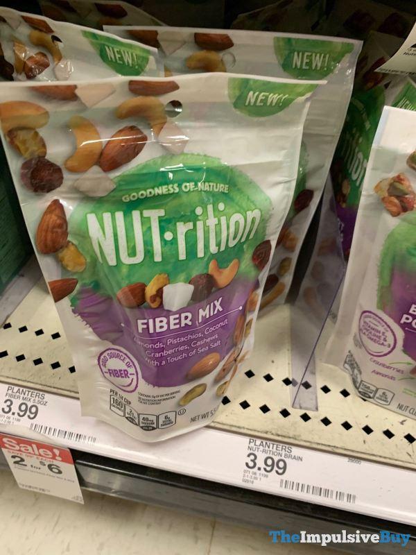 Planters Nut rition Fiber Mix