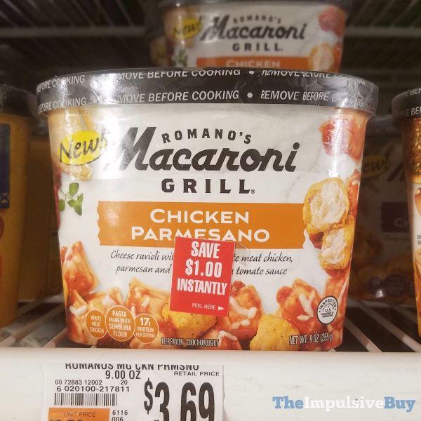 Romano s Macaroni Grill Ghicken Parmesano