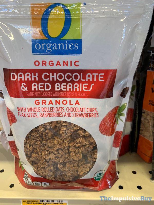 Safeway Organics Organic Dark Chocolate  Red Berries Granola