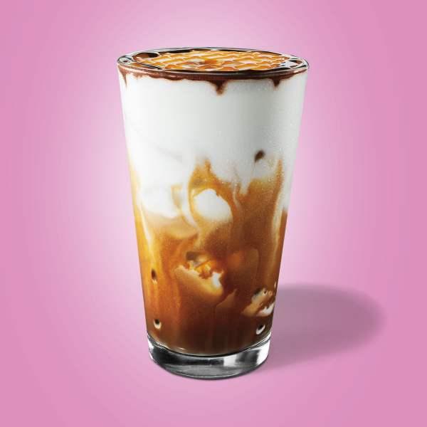 Starbuck Iced Cocoa Cloud Macchiato