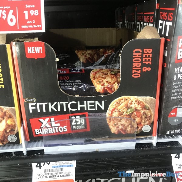 Fit Kitchen: SPOTTED: Stouffer's Fit Kitchen Protein Bowls And XL