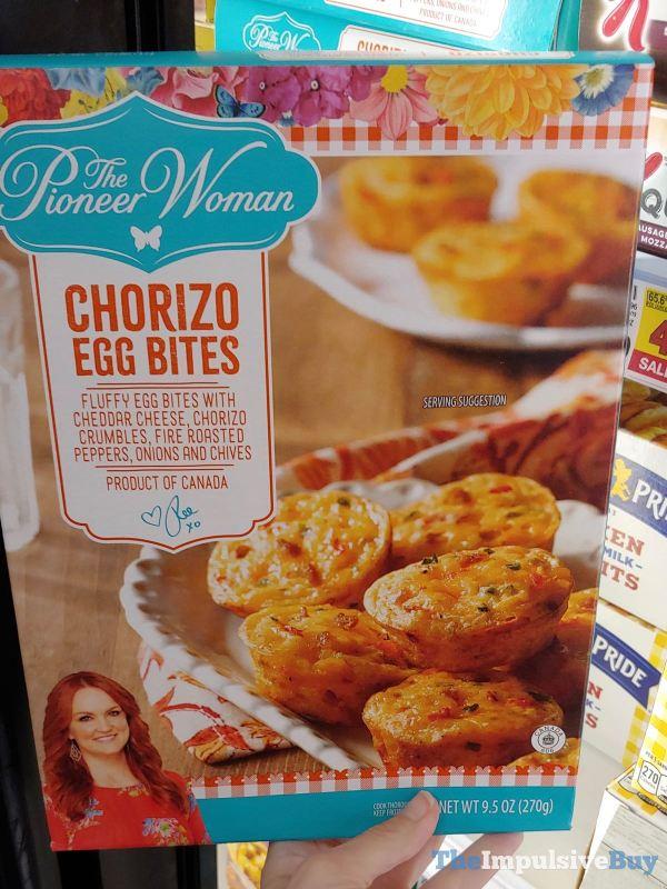 The Pioneer Woman Chorizo Egg Bites
