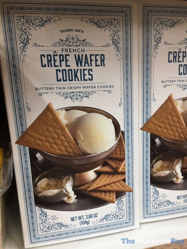 Trader Joe s French Crepe Wafer Cookies