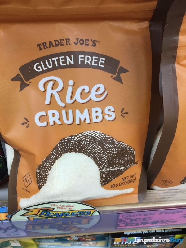 Trader Joe s Gluten Free Rice Crumbs