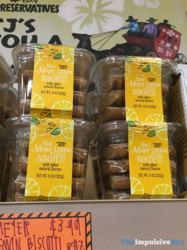 Trader Joe s Mini Meyer Lemon Biscotti