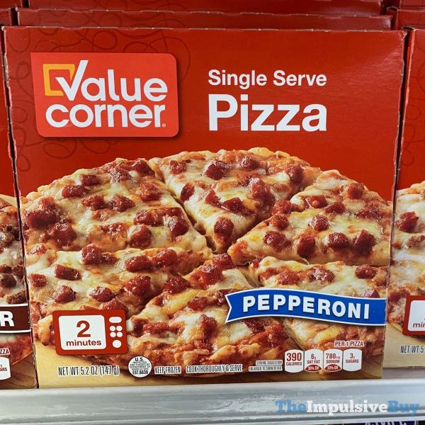 Value Corner Pepperoni Single Serve Pizza