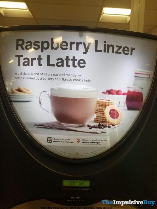 7 Eleven Raspberry Linzer Tart Latte
