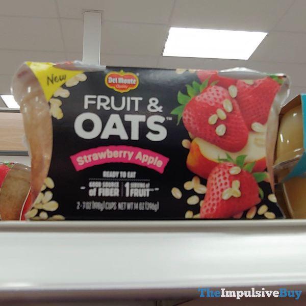 Del Monte Fruit  Oats Strawberry Apple