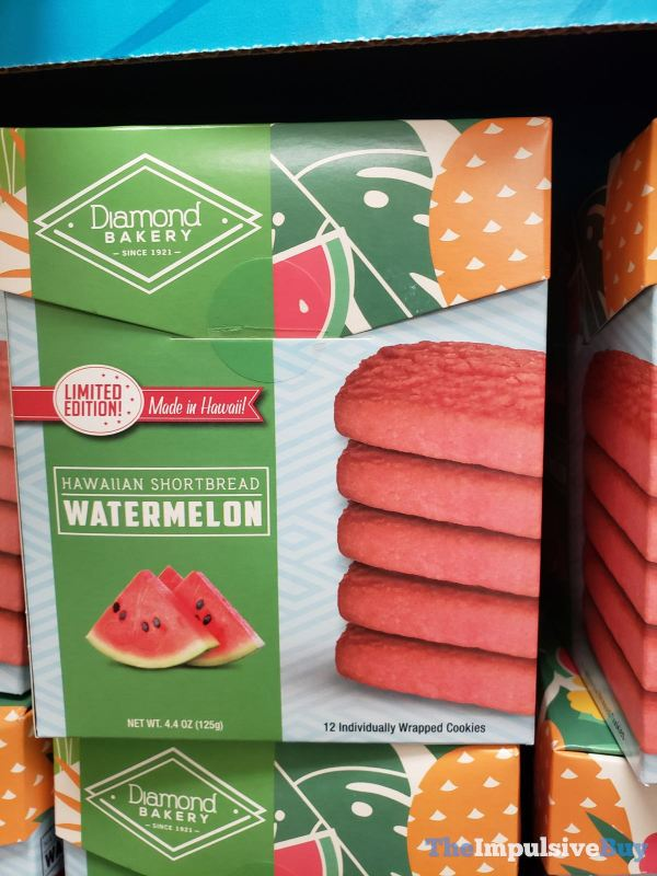 Diamond Bakery Limited Edition Watermelon Hawaiian Shortbread