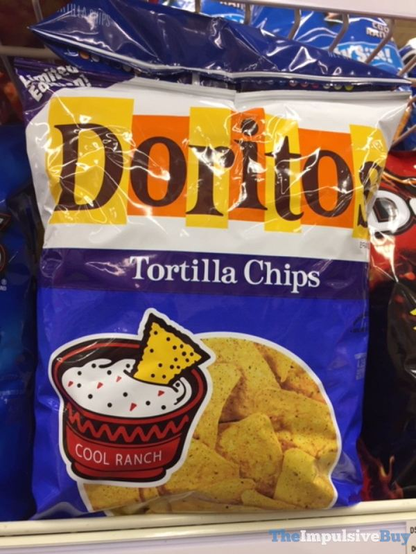 Doritos Limited Edition Retro Cool Ranch Tortilla Chips
