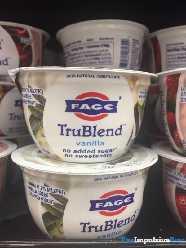 Fage TruBlend Vanilla Greek Yogurt