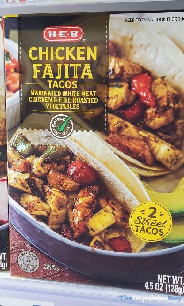 H E B Chicken Fajita Tacos
