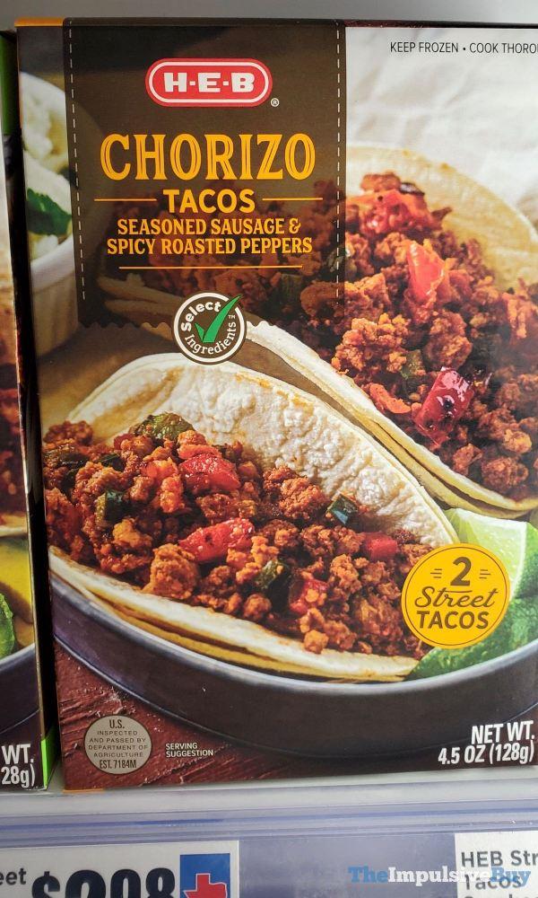 H E B Chorizo Tacos