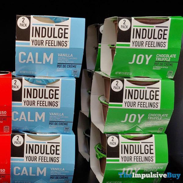 Indulge Your Feelings Pot de Creme  Calm Vanilla and Joy Chocolate Truffle