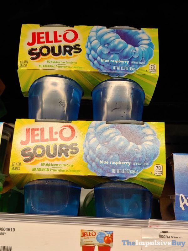 Jello Sours Blue Raspberry