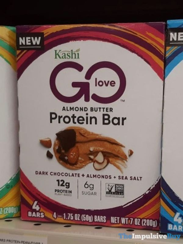 Kashi Go Love Almond Butter Protein Bars