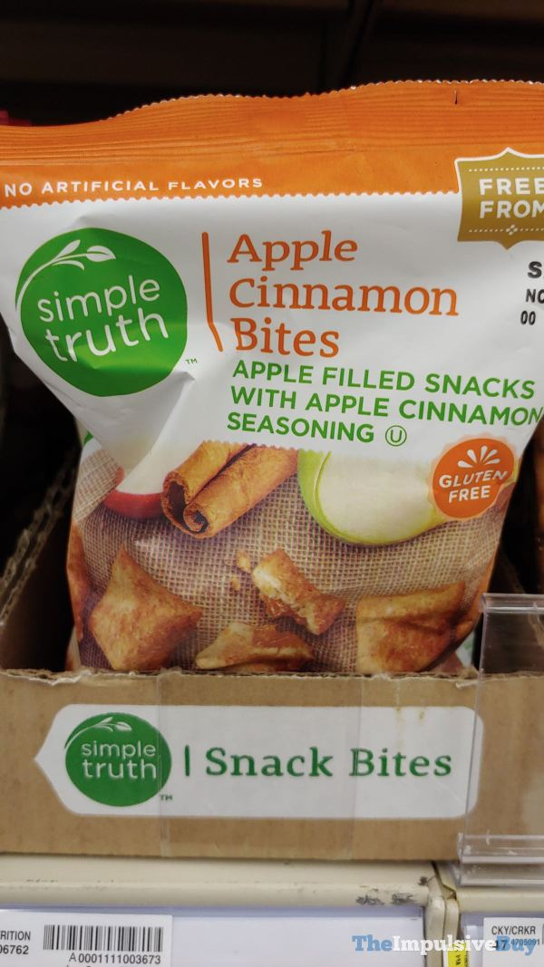 Kroger SImple Truth Apple Cinnamon Bites